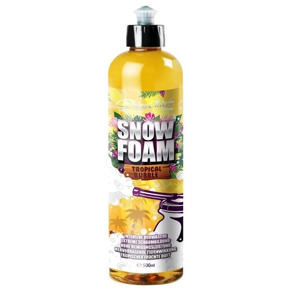 Shiny Chiefs Snow Foam - Tropical Bubble 500ml